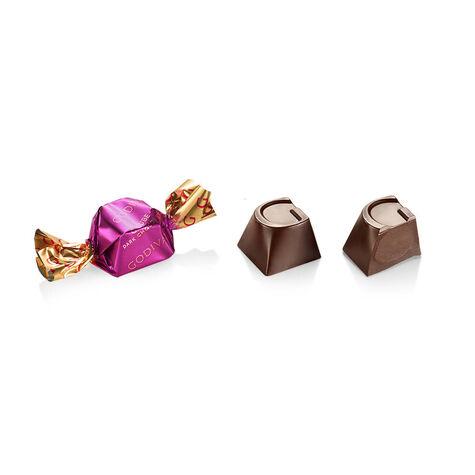 Classic Dark Chocolate G Cube Box, Set of 2, 22 pcs. each