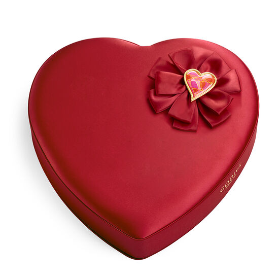 Valentine's Day Fabric Heart Chocolate Gift Box, 37 pc. image number null