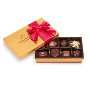 Assorted Chocolate Gold Gift Box, Limited Edition Ribbon, 8 pc.