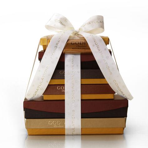 Chocolate Decadence Gift Tower