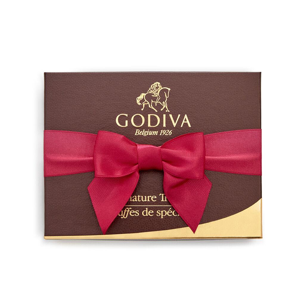 Signature Truffle Gift Box, Spring Ribbon, 12 pc.