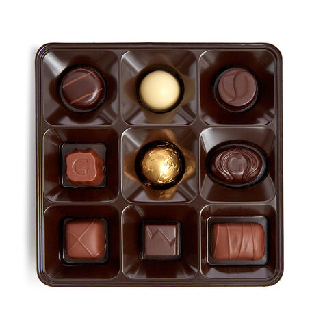 Holiday Assorted Chocolate Gift Box, 27 pc.