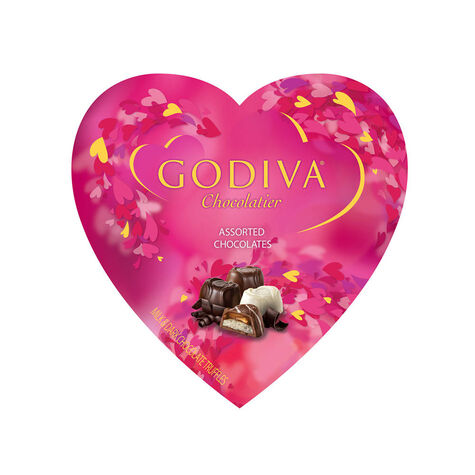 9 pc. Assorted Chocolate Gift Heart