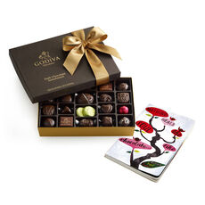 Nothing Heals the Soul Like Chocolate Journal & Dark Chocolate Assortment Gift Box, 27 pc.