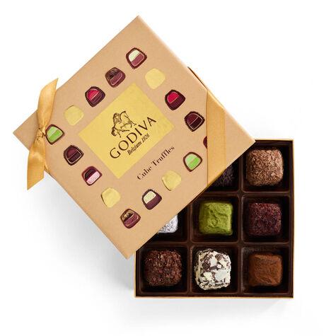Cube Truffles  Gift Box, 9 pc.