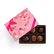 Valentine's Day Assorted Chocolate Gift Box, 6 pc.