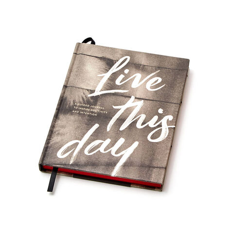 Live This Day Journal and Milk Chocolate Biscuits with Chocolate Truffle Coffee