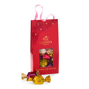 Valentine's Day G Cube Chocolate Truffles Pouch, 10 pc.