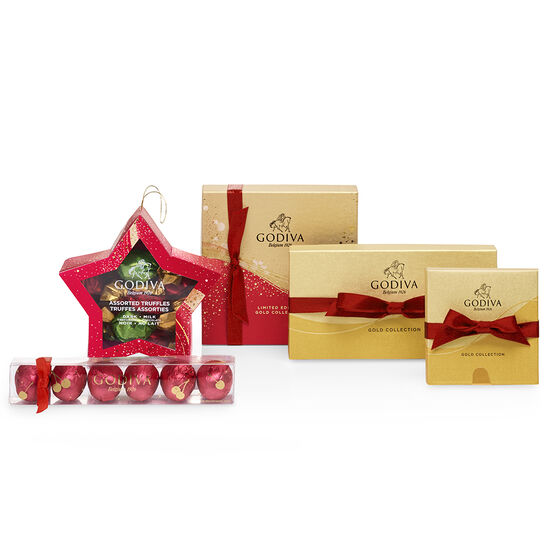 Make It Merry Chocolate Gift Basket image number null