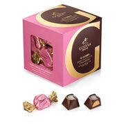 Dark Chocolate Strawberry G Cube Box, 22 pcs.