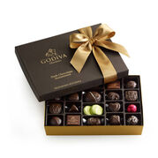 Dark Chocolate Assortment Gift Box, Classic Ribbon, 27 pc.