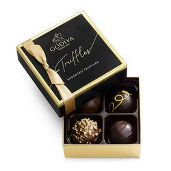 Signature Chocolate Truffles Gift Box, 4 pc.