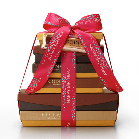 Chocolate Decadence Gift Tower