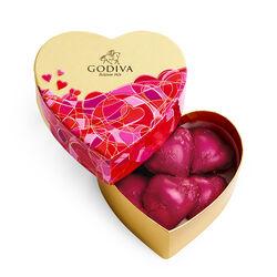 Valentine's Day Mini Heart Gift Box, 6pc.