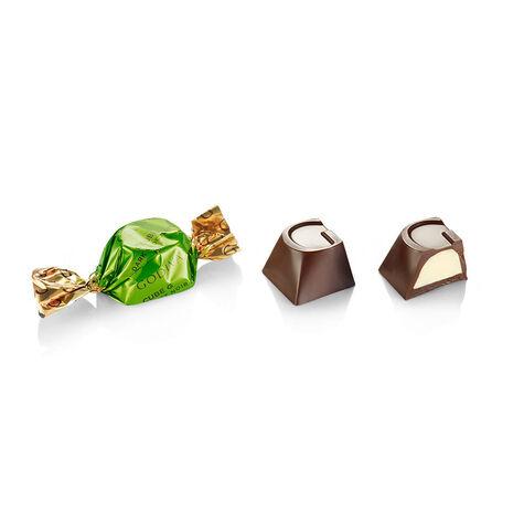 Dark Chocolate Mint G Cube Box, Set of 2, 22 pcs. each
