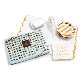 Let's Celebrate Entertaining Set with Patisserie Dessert Truffles, 24 pc