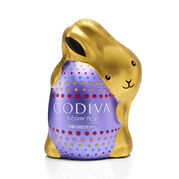 Dark Chocolate Bunny, Foil Wrapped, 4 oz.
