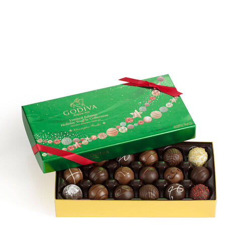 Holiday Assorted Truffles Gift Box