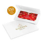 $50 GODIVA Holiday Gift Card