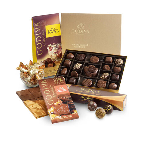 Nut & Caramel Lovers Gift Set