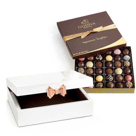 Ted Baker London Jewelry Box with Signature Chocolate Truffles Gift Box, 36 pc.