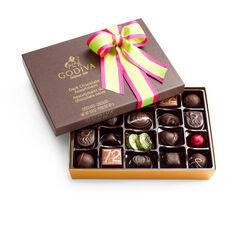 Dark Chocolate Gift Box, Spring Ribbon, 27 pc.