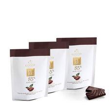 Pure 85% Distinctly Smooth Dark Chocolate and Coffee Mini Bars, Set of 3
