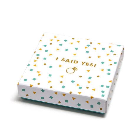 I Said Yes Square Tray & Signature Truffles, 12 pc.