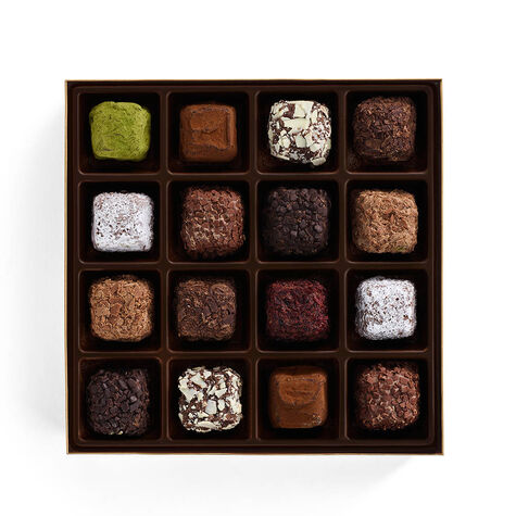 Cube Truffles Gift Box, 16 pc.
