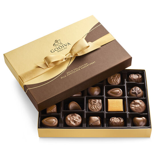 Milk Chocolate Gift Boxes image number null