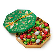 Limited Edition Holiday Tin, Assorted Wrapped Truffles, 50 pc.
