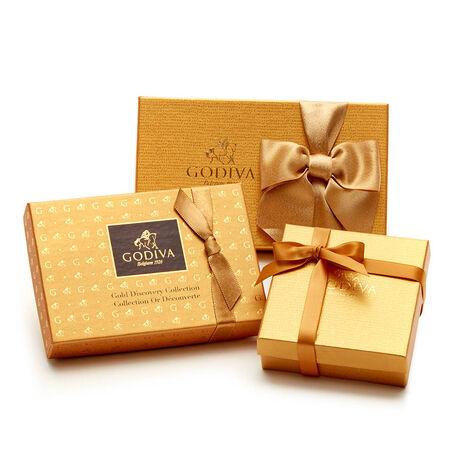 Gold Chocolate Treats Sampler