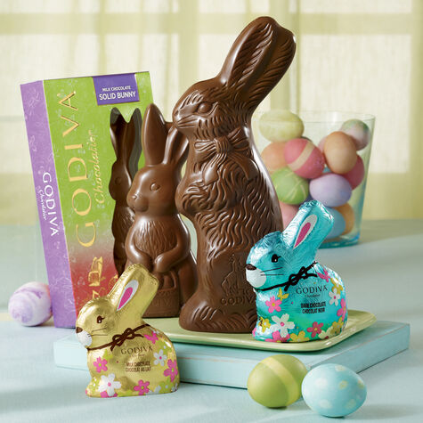 Bertie the Milk Chocolate Easter Bunny