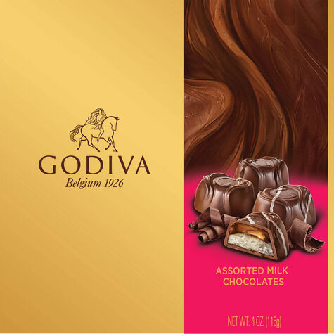 Milk Chocolate Assorted Bliss Gift Box, 9 pc.