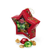 Chocolate-Filled Star Ornament, 10 pc.