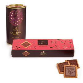 Milk Chocolate Biscuit and Milk Cocoa Gift Set