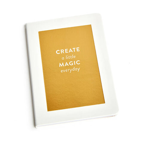 Create a Little Magic Journal with Assorted Chocolate Gold Gift Box, 19 pc.