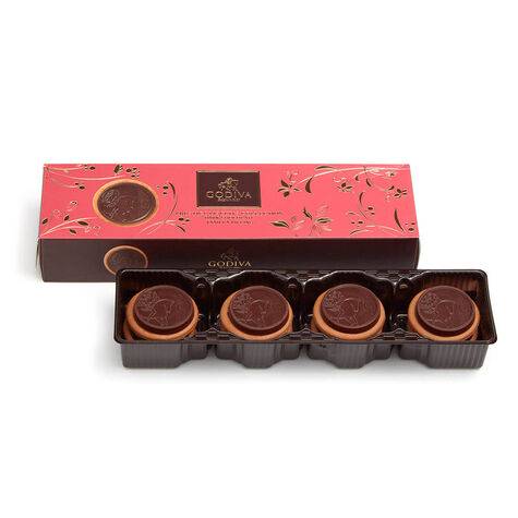 Lady Noir Chocolate Biscuits, 12 pc.