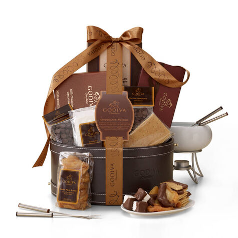Chocolate Fondue Gift Basket