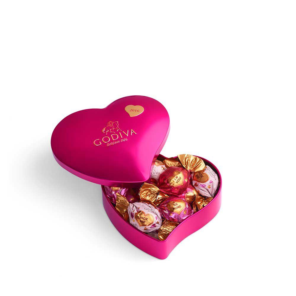 12 pc. Keepsake Heart Tin