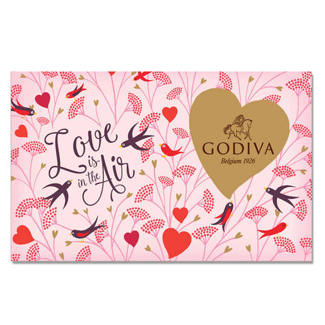 $25 GODIVA Gift Card - Love is in the Air