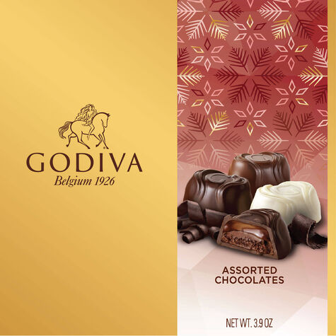 Assorted Chocolate Bliss Gift Box, Holiday, 9 pc.