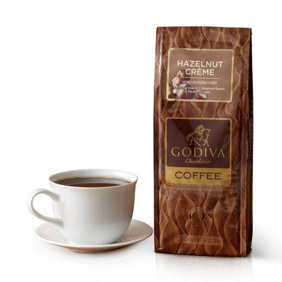 Hazelnut Creme Coffee, Ground, 10 oz. image number null
