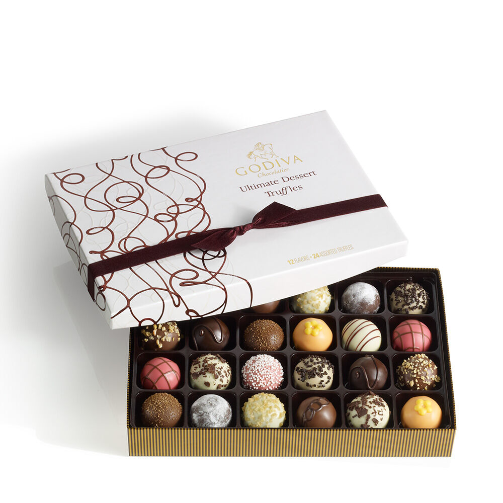 Ultimate Dessert Truffles Gift Box, 24 pc.