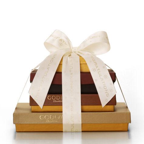 Chocolate Indulgence Gift Tower