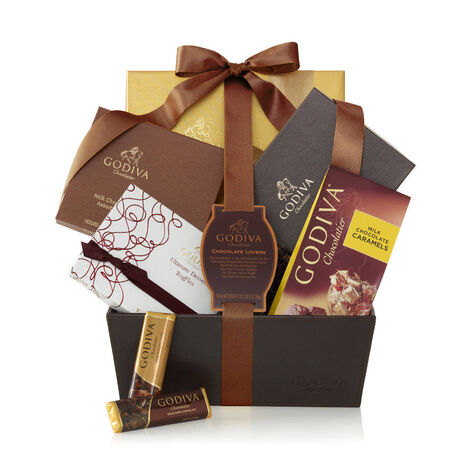 Chocolate Lover's Basket, Classic Ribbon