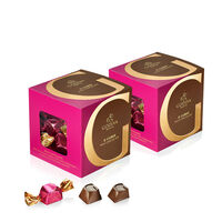 Deals on Classic Milk Chocolate G Cube Box, Set of 2, 22 pcs