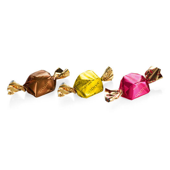 Milk Chocolate Assortment G Cube Box, Set of 2, 22 pcs. each image number null