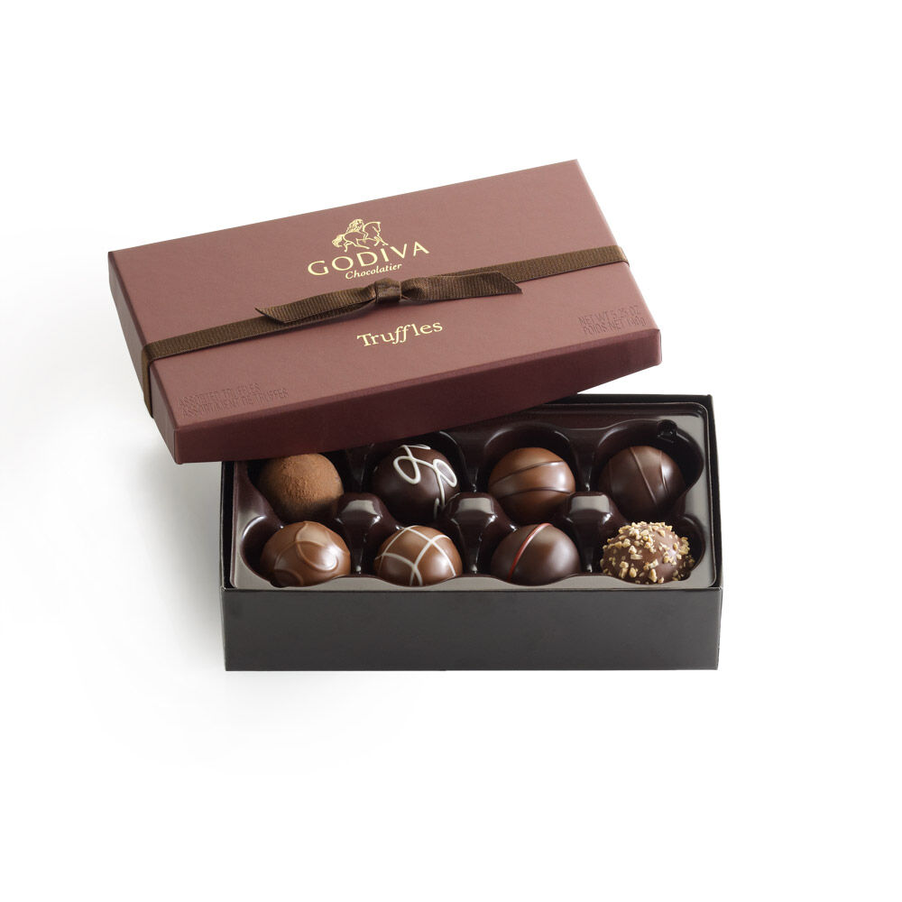 Signature Chocolate Truffles Gift Box