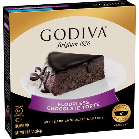Flourless Chocolate Torte Baking Mix with Dark Chocolate Ganache